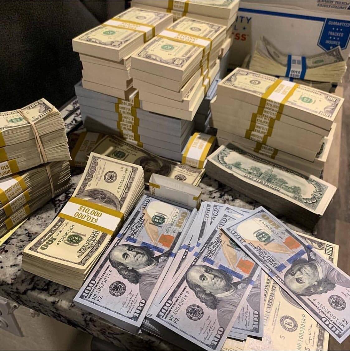 USD $100 Bills